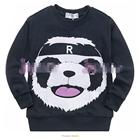 เสื้อแขนยาวหมีแพนด้า-สีน้ำเงิน-(5-ตัว/pack)