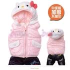 เสื้อแจ็กเก็ตแขนกุด-Hello-Kitty-สีชมพู(3-ตัว/pack)