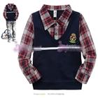 เสื้อแขนยาวหนุ่มอังกฤษ-สีน้ำเงิน-(5-ตัว/pack)