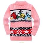 เสื้อกันหนาวแขนยาว-Angry-Bird-สีชมพู-(6-ตัว/pack)