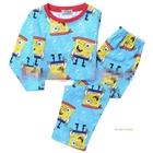 ชุดนอนเด็ก-SpongeBob-สีฟ้า-(8-ตัว/pack)
