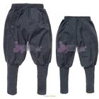 กางเกงขายาว-สีเทา-(5-ตัว/pack)