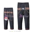 กางเกงขายาวหมีตาดำ-สีแดง-(5-ตัว/pack)