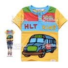 เสื้อยืดแขนสั้น-School-Bus-สีเหลือง-(5size/pack)