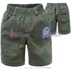 กางเกงขาสั้นโดเรมอน-สีเขียวเข้ม-(5-ตัว/pack)