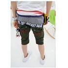 กางเกงขาสามส่วน-Rocket-สีเขียว-(4size/pack)