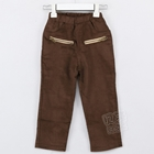 กางเกงขายาว-zipper-pocket-สีน้ำตาล-(4-ตัว/pack)