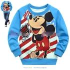 เสื้อแขนยาว-Mickey-Mouse-1928-สีฟ้า-(5size/pack)