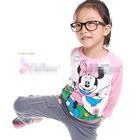 เสื้อแขนยาว-Minnie-Mouse-ร่าเริง-สีชมพู-(6size/pack)