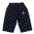 กางเกงขาสามส่วนสมอเรือ-สีน้ำเงิน-(4size/pack)