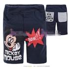กางเกงสั้น-Mickey-Super-Bom!-สีกรมท่า-(6size/pack)