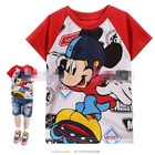 เสื้อแขนสั้น-Mickey-Mouse-เล่นสเก็ต-(6size/pack)
