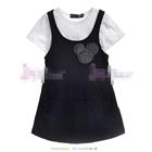 ชุดเดรสเอี๊ยม-Mickey-Mouse-สีดำ-(4size/pack)