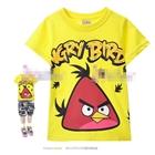 เสื้อแขนสั้น-Red-Bird-สีเหลือง-(4size/pack)
