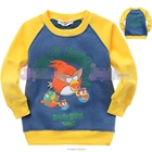 เสื้อแขนยาว-Angry-Birds-โจรสลัด-สีเหลือง-(5size/pack)