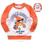 เสื้อแขนยาว-Angry-Birds-โจรสลัด-สีส้ม-(5size/pack)