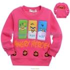 เสื้อแขนยาว-Angry-Birds-3-สหาย-สีชมพู-(5size/pack)
