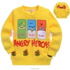 เสื้อแขนยาว-Angry-Birds-3-สหาย-สีเหลือง-(5size/pack)