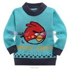 เสื้อแขนยาวสเวตเตอร์-Red-Bird-สีเขียวอมฟ้า-(6size/pack)