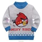 เสื้อแขนยาวสเวตเตอร์-Red-Bird-สีเทา-(6size/pack)