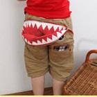 กางเกงขาสามส่วนลายฟันปลา-(4size/pack)