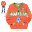 เสื้อแขนยาว-Angry-Birds-สุดหล่อ-สีส้ม-(5size/pack)