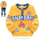 เสื้อแขนยาว-Angry-Birds-สุดหล่อ-สีเหลือง-(5size/pack)