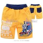 กางเกงขาสั้น-Mr.Thomas-สีเหลืองอมส้ม--(6size/pack)