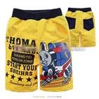 กางเกงขาสั้น-Mr.Thomas-สีเหลือง--(6size/pack)
