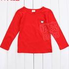 เสื้อแขนยาวหมีน้อย-สีแดง-(5-ตัว/pack)