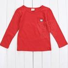 เสื้อแขนยาวหมีน้อย-สีแดงเข้ม-(5-ตัว/pack)