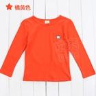 เสื้อแขนยาวหมีน้อย-สีส้มเข้ม-(5-ตัว/pack)
