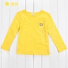 เสื้อแขนยาวหมีน้อย-สีเหลือง-(5-ตัว/pack)