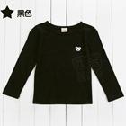 เสื้อแขนยาวหมีน้อย-สีดำ-(5-ตัว/pack)