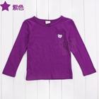 เสื้อแขนยาวหมีน้อย-สีม่วง-(5-ตัว/pack)