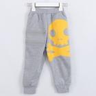 กางเกงขายาวหัวกะโหลก-สีเทา-(5-ตัว/pack)