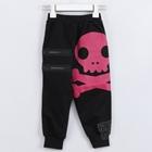 กางเกงขายาวหัวกะโหลก-สีดำ-(5-ตัว/pack)