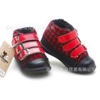 รองเท้าผ้าใบ-PLAY-Comme-ลายสก๊อต-สีแดง-(6-คู่/แพ็ค)