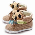 รองเท้าผ้าใบหุ้มข้อ-แพนด้านุ่มนิ่ม-สีน้ำตาล-(7-คู่/แพ็ค)