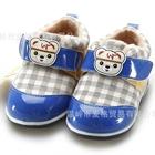 รองเท้าผ้าใบน้องหมีอินเดียนแดง-สีน้ำเงิน-(4-คู่/แพ็ค)