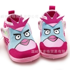 รองเท้าผ้าใบนกหน้าใหญ่-สีชมพู-(6-คู่/แพ็ค)