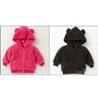 เสื้อแจ็คเก็ตนุ่มนิ่มมีฮูด-คละสี-(10-ตัว/pack)