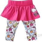 กางเกงเลกกิ้งลาย-HELLO-KITTY--สีชมพู-(5-ตัว-/pack)