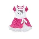 เดรสแขนสั้น-Hello-Kitty-สีขาวชมพู-(5-ตัว/pack)