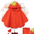เสื้อคลุมสตอเบอรี่-สีแดง-(20-ตัว/pack)