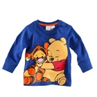 เสื้อแขนยาวหมีพูลล์และเพื่อน-สีน้ำเงิน(5-ตัว/pack)