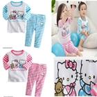 ชุดเสื้อกางเกง-Hello-Kitty-คละสี-(5-ตัว/pack)