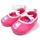 รองเท้าเด็กคิตตี้ติดปีก-สีชมพู-(6-คู่/แพ็ค)