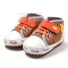 รองเท้าเด็กหมีพูห์พุงป่อง--(6-คู่/แพ็ค)