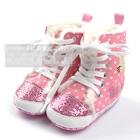 รองเท้าผ้าใบคิตตี้หัวใจปิ๊งๆ-(6-คู่/แพ็ค)